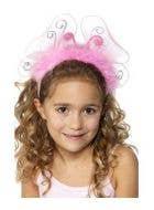 Flashing Pink Butterfly Girls Headband