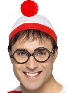 Where's Wally Beanie and Glasses Costume Accessory Set