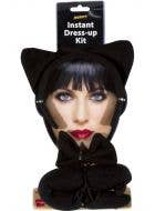 Black Cat Ears And Tail Accessory Kit