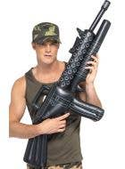 Inflatable Black Toy Army Machine Gun Weapon