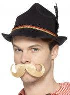 Mens Brown Oktoberfest Outfit German Costume Hat Accessory - Main Image