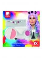Unicorn Face Paint and Stick On Jewels Makeup Kit Main Image