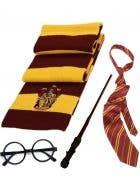 Wizard School Gryffindor Student Accessory Set