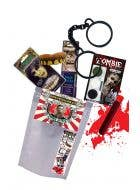 Zombie Attack Ready To Go Adult's Zombie Halloween Kit