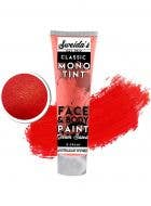 Red Cream Based Face and Body Makeup