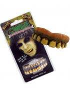 Feral Zombie Custom Fit Costume Accessory Teeth