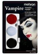 3 Colour Mehron Vampire Makeup Palette Halloween Special Effects