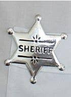 Cowboy Sheriff Badge Costume Accessory