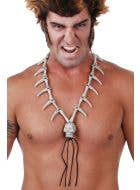 Voodoo Tooth and Skull Costume Necklace