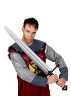 Medieval Knight Long Costume Accessory Sword