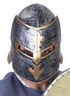 Flip Front Knight Helmet Costume Accessory Main Image