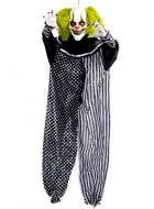 Black and White Clown Decoration with Touch Activation