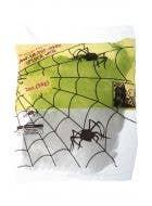 Glow in the Dark Spider Web Decoration