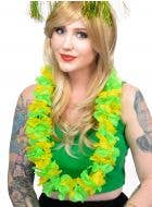 Novelty Green and Gold Costume Lei