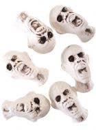 Bag of Severed Plastic Heads Halloween Decoration - Main Image