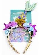 Beaded Glitter Mermaid Headband Costume Accessory