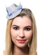 German Women's Bavarian Style Mini Oktoberfest Costume Hat Main Image