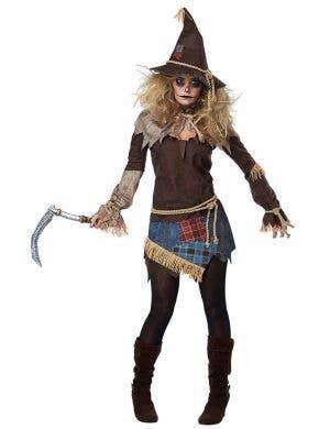California Costumes Women's Creepy Scarecrow Halloween Costume