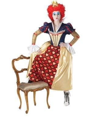 Red Queen of Hearts Women's Costume
