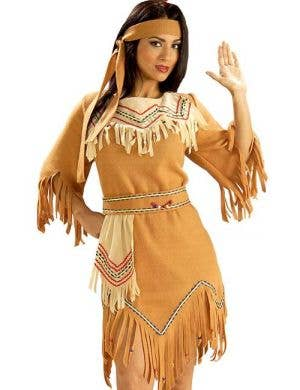 Native American Maiden Women's Indian Costume