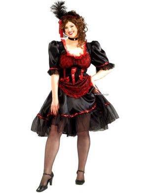 Wild West Saloon Girl Plus Size Women's Costume