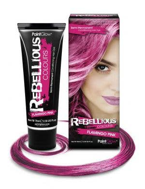 70ml Semi Permanent Conditioning Flamingo Pink Special Effects Hair Dye