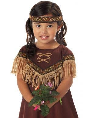 Lil' Indian Girl Native American Kids Costume