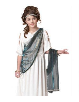 Roman Princess Girls Fancy Dress Costume