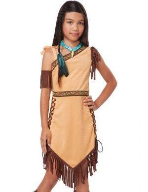 Native American Princess Pocahontas Girls Costume