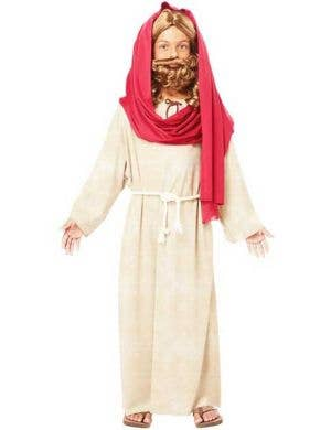 Boy's Jesus Christmas Bible Nativity Fancy Dress Costume Front