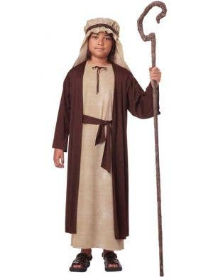 Boy's Joseph Bible Nativity Christmas Fancy Dress Costume Front
