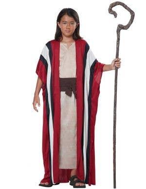 Boys Shepherd Christmas Nativity Fancy Dress Costume