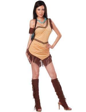 Native American Beauty Sexy Women's Costume