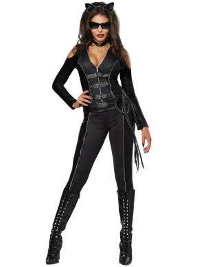 Sexy Fatal Feline Women's Catwoman Fancy Dress Costume Product Image