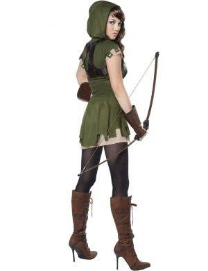 Ladies Budget Robin Hood Costume Adults Archer Fancy Dress Book Week Outfit