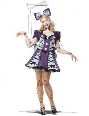 Marionette Doll Women's Halloween Costume
