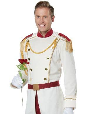 Prince Charming White Storybook Men's Fairytale Costume