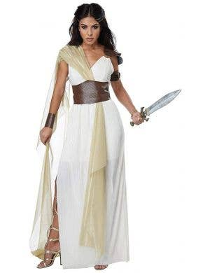 Spartan Warrior Queen Women's Fancy Dress Costume