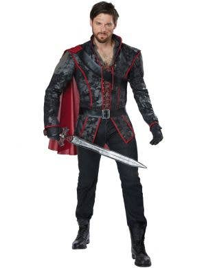 Dark Prince Huntsman Fairytale Storybook Costume for Men Main Image
