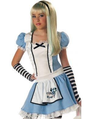 Alice in Wonderland Girl's Traditional Costume