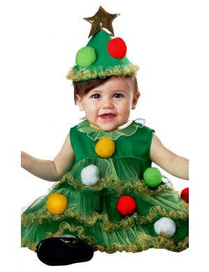 Lil' Christmas Tree Baby and Infant Christmas Fancy Dress Costume