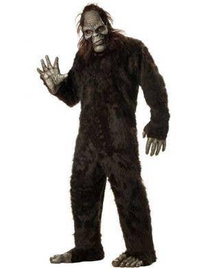 Plus Size Men's Big Foot Halloween Costume Main Image