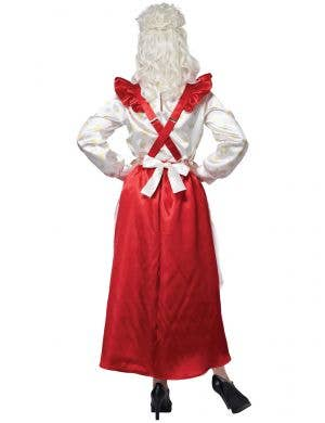 Mrs Claus Deluxe Pinafore Women's Christmas Costume