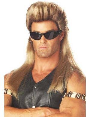 Dog the Bounty Hunter Men's Straight Mullet Wig