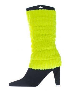 Fluro Yellow Leg Warmers Image 1