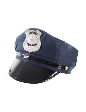 Navy Blue Cop Costume Accessory Hat