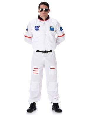 Men's NASA Astronaut Fancy Dress Costume Main Image