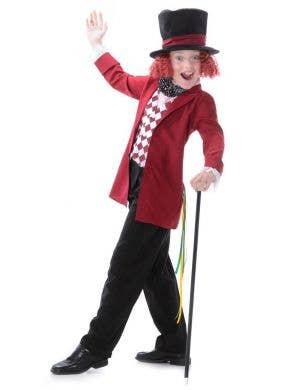 Boys Willy Wonka Book Week Costume Main Image