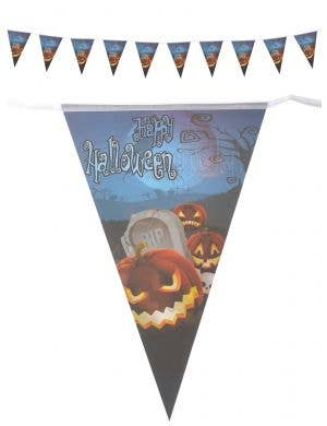 Happy Halloween Pumpking Bunting Decoration Main Image