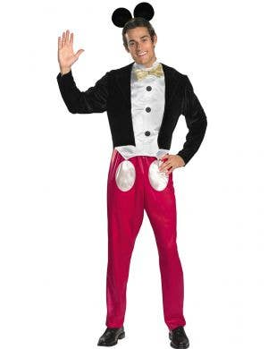 Mickey Mouse Tuxedo Style Costume for Men